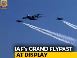 Video : Grand Flypast On Display At Indian Air Force's 87th Anniversary