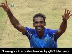 Watch: Birthday Boy Abhimanyu Mithun Claims Last Over Hat-Trick In Vijay Hazare Trophy Final