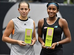 Coco Gauff Beats Jelena Ostapenko To Win First WTA Title