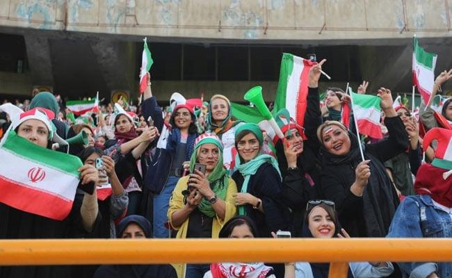 Thousands Of Iran Women Watch Football Match For First Time