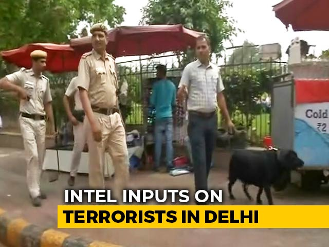 Video : Four Jaish-e-Mohammed Terrorists In Delhi, Warns Intel, Alert Sounded