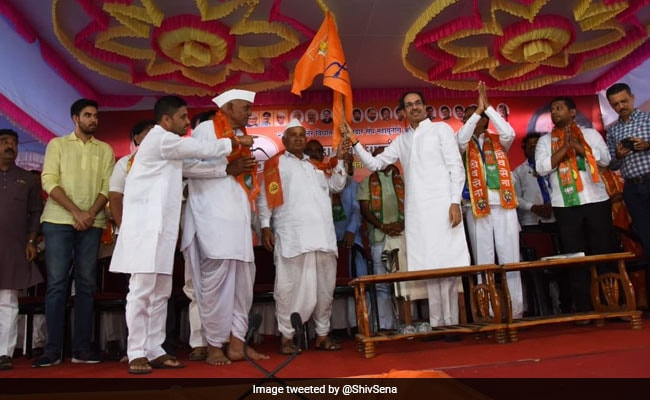 Maharashtra Assembly Elections 2019 - 'He's More In Forest': Uddhav Thackeray After Younger Son Attends Rally