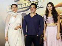 Inside The Trailer Launch Of <i>Dabangg 3</i> With Salman Khan, Sonakshi Sinha And Saiee Manjrekar. See Pics