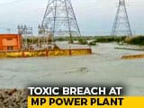 Video : Ash Leak From Madhya Pradesh NTPC Plant Spills On Farms, Allege Villagers