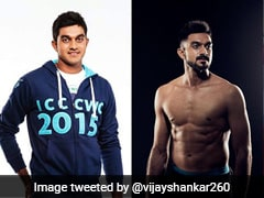 Vijay Shankar Trolled For Posting Body Transformation Picture On Social Media