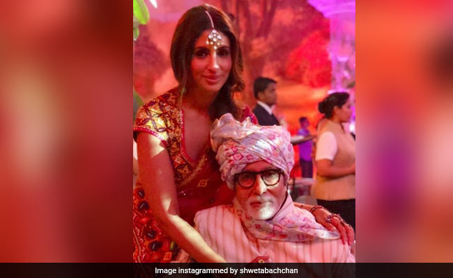For Amitabh Bachchan, An Adorable Birthday Post From Daughter Shweta: 'I Love You Endlessly'