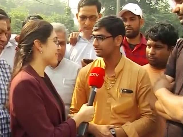 Video : Haryana Voters Divided As Early Leads Show Slim Lead For BJP