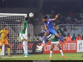 World Cup 2022 Qualifiers: Adil Khan Late Header Helps India Salvage 1-1 Draw Against Bangladesh