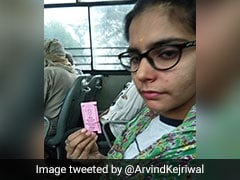 """From A Brother..."": Arvind Kejriwal's Message On Free Bus Ride For Women"