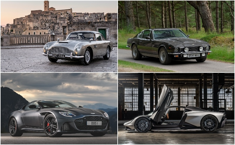 The 25th Bond movie will feature the Aston Martin DB5, Vantage Series II, DBS Superleggera & the Valhalla
