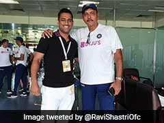 "India vs South Africa: Ravi Shastri Shares Picture With ""True Indian Legend In His Den"""