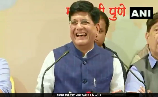 Piyush Goyal brands Nobel laureate Abhijit Banerjee 'Left-leaning'