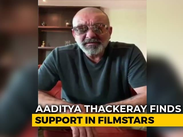 Video : Sanjay Dutt Remembers Bal Thackeray, Backs Grandson Aaditya To Win From Mumbai's Worli