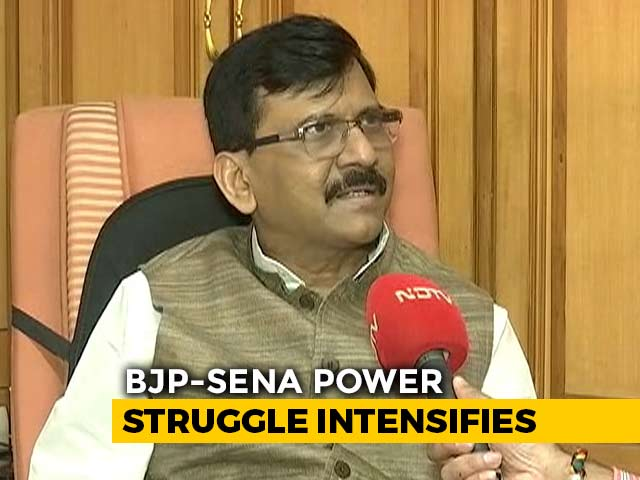 "Video : ""BJP Can't Renege On 50:50 Formula Agreement"": Sena's Sanjay Raut To NDTV"