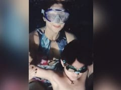 शिल्पा शेट्टी ने शेयर किया वीडियो, बेटे वियान के साथ पूल में यूं मस्ती करती आईं नजर- देखें Video