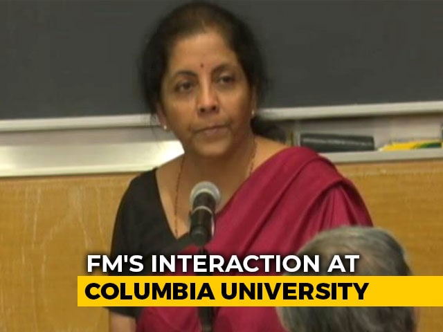 Video : In Raghuram Rajan's Time, Loans Given Based On Phone Calls: Nirmala Sitharaman