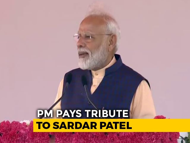 "Video : ""Unity In Diversity Our Identity"": PM On Sardar Patel's Birth Anniversary"