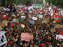 """Historic Day"": Santiago Governor Tweets As 1 Million March Into Chile City"