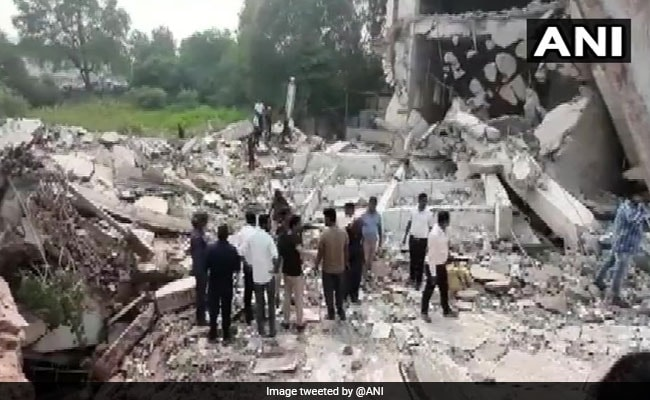 Building Collapses In Vadodara, Several Feared Trapped