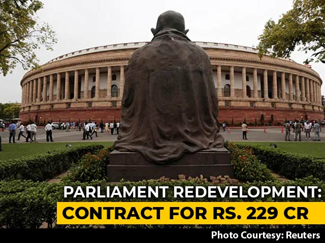 Video : Ahmedabad Firm Gets Contract For Redevelopment Of Parliament Building