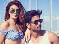 <I>Drive</i> Song <I>Makhna</I> Is All About Jacqueline Fernandez And Sushant Singh Rajput's Loved Up Moments