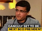 Video : Sourav Ganguly Set To Be Next BCCI President: Report