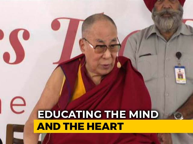 Video : What India Must Show The World: Dalai Lama's Message To Schoolchildren