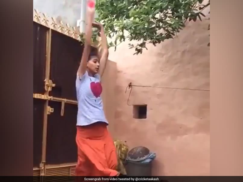 Aakash Chopra Posts Video Of A Girl Emulating Harbhajan Singhs Bowling Action. Watch