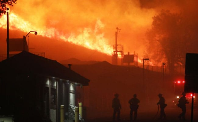 Evacuation Of Around 50,000 Ordered In US' California Over Wildfires