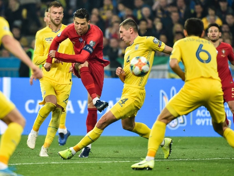 Ukraine Qualify For Euro 2020 Despite Cristiano Ronaldo