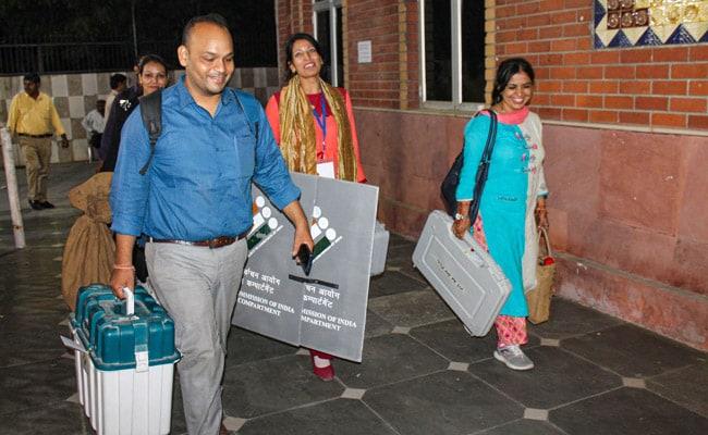 BJP Ahead As Counting Of Votes In Haryana, Maharashtra Begins