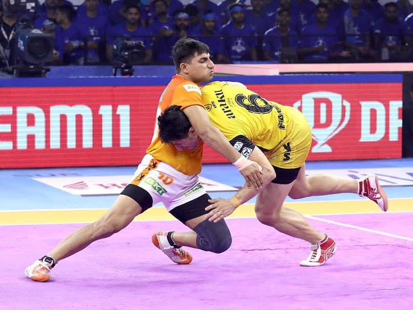 Pro Kabaddi: Telugu Titans Go Down Fighting Against Puneri Paltan
