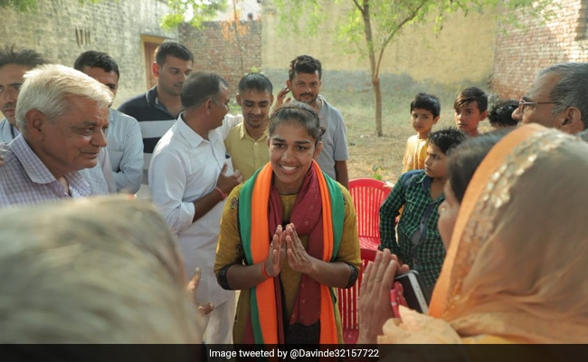 Haryana Election Result 2019:  'People Will Bless Their Daughter,' Says BJP's Babita Phogat, Confident Of Win