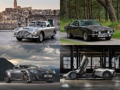 Aston Martin Confirms 4 Cars To Feature In Upcoming James Bond Movie No Time To Die