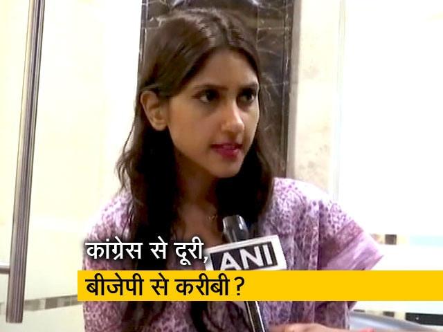 Videos : उत्तर प्रदेश में कांग्रेस विधायक अदिति सिंह ने फिर दिखाए बागी तेवर
