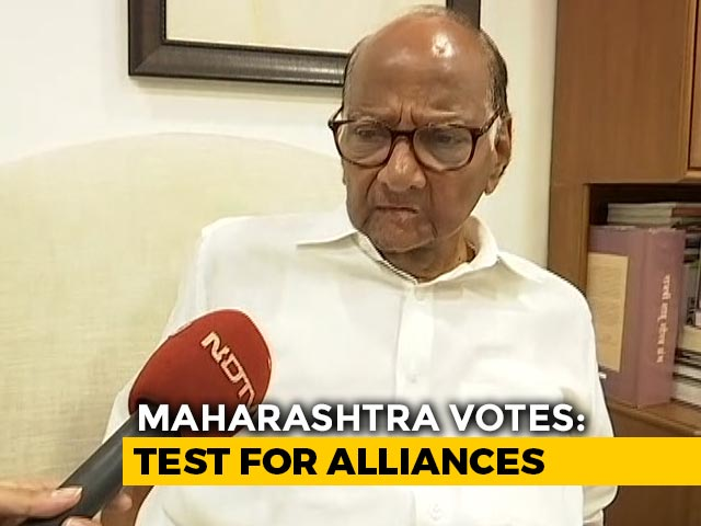 'We're Coming To Power,' Sharad Pawar Tells NDTV As Maharashtra Votes