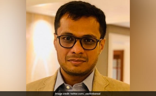 Sachin Bansal Slammed For Recommending 'Misogynistic' Twitter Account