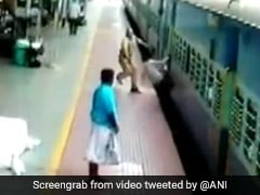 Tamil Nadu Railway Cop Saves Man Who Slipped Between Train And Platform