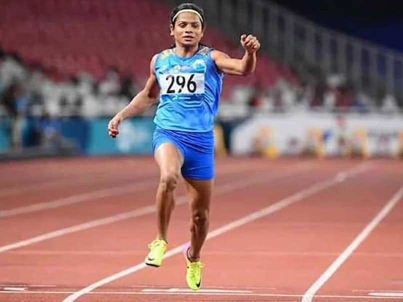 Dutee Chand Qualifies For Tokyo Olympics In 100m And 200m Events