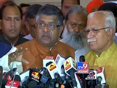 "Elections Result 2019: ""BJP Will Not Take Support From Gopal Kanda"": Ravi Shankar Prasad"