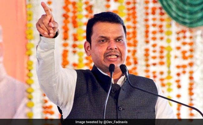 'When The Outgoing Chief Minister....': Sena's Barb At Devendra Fadnavis