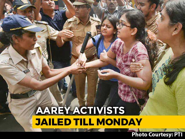 Video : Over 1,000 Trees At Mumbai's Aarey Colony Axed, Review Petition Rejected