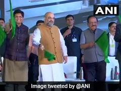 Vande Bharat Train को शाह ने दिखाई हरी झंडी, 8 घंटे में दिल्ली से पहुंचाएगी कटरा, PM ने बताया 'नवरात्रि की भेंट'