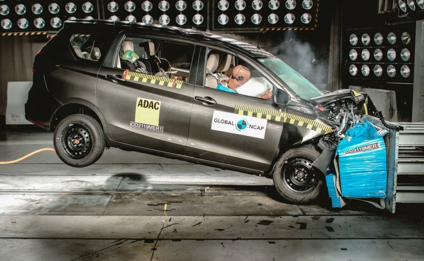 2019 Global NCAP crash test rating for Maruti Suzuki Ertiga is 3 star.
