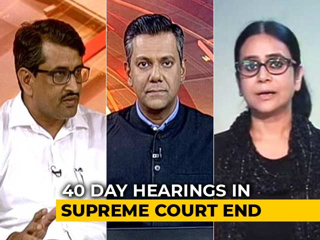 Video : Ayodhya Case: Final Verdict By November 17