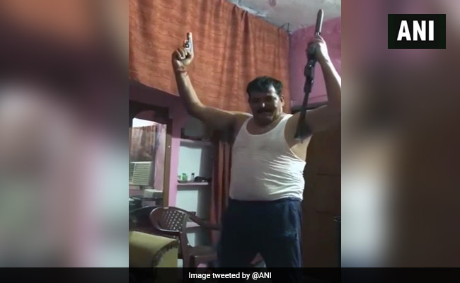 Probe Ordered After Video Shows Man Dancing With Two Guns In Haridwar