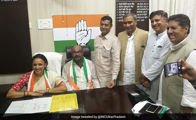 Ajay Kumar Lallu Takes Charge As New UP Congress Chief