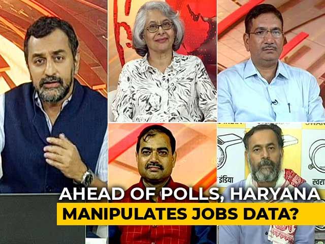 Video : Khattar Paradox: Falling Jobs, Rising Votes?