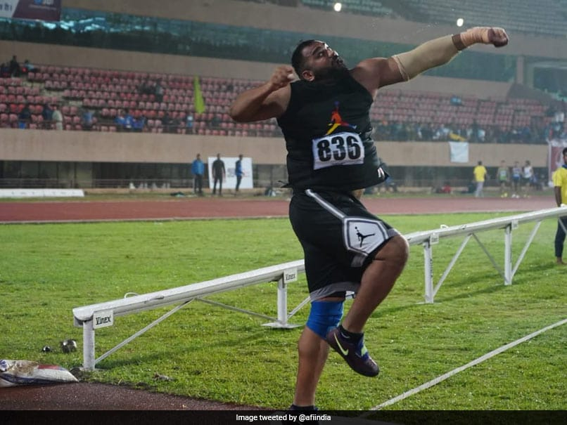 Toor Betters His Own National Record To Win Shot Put Gold
