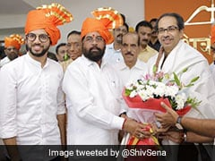 Eknath Shinde, Backed By Aaditya Thackeray, Elected As Sena House Leader